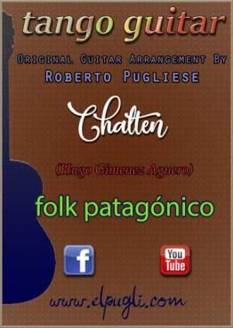 Chaltén partitura para guitarra