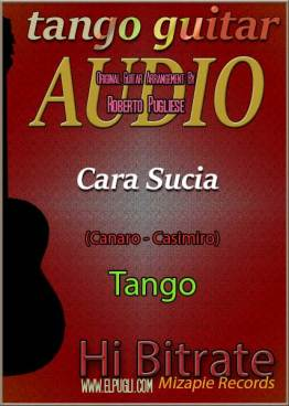 Cara sucia tango en guitarra mp3 download por Roberto Pugliese