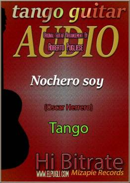 Nochero soy tango en guitarra. Mp3 download por Roberto Pugliese