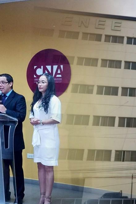 CNA presenta caso luminarias de la corrupción y obscuridad