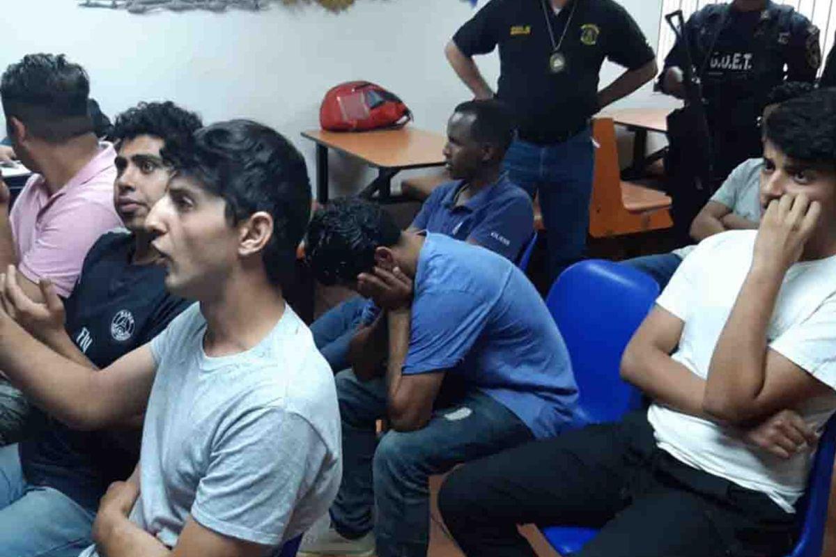 Iraníes detenidos en Honduras pasaron por Nicaragua