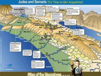 Israel, judea y samaria y hasta lo ultimo de la tierra