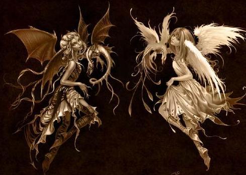 Angeles y Demonios, mal, maldad, satanas, evil