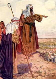 Abraham y Lot, personajes biblicos, padre fe