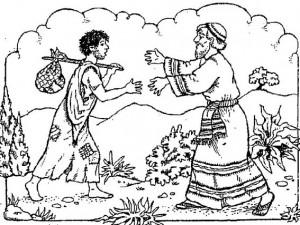 joven regresando al padre, el hijo prodigo, el perdon de dios, bosquejo
