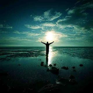 Libertad, playa, atardecer, paisaje, naturaleza, Dios
