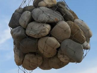 piedras en la bolsa