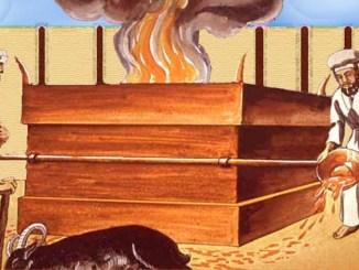 leyes, sacrificios, altor del holocausto, pentateuco