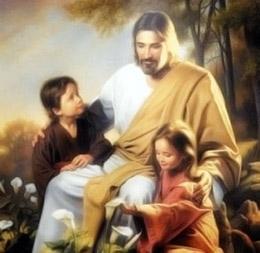 Dios, amor, niños