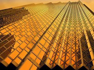 oro, edificio, riqueza