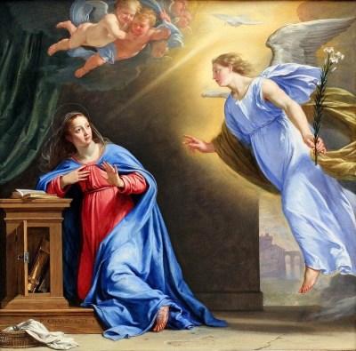 encarnacion de jesus, jesus, anunciacion