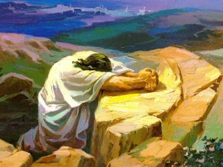 jesus, oracion, importancia