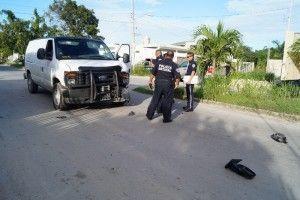 Polis choque