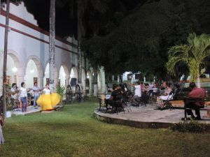 evento artistico y cultural en el jardin del arte Museo  Santa Cruz Xbalan Nah (1)