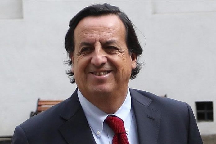 Ministro del interior Víctor Pérez