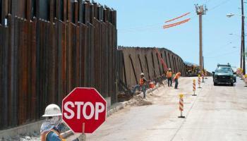 """""""No se construirá otro pie de muro en mi administración"""" Joe Biden"""