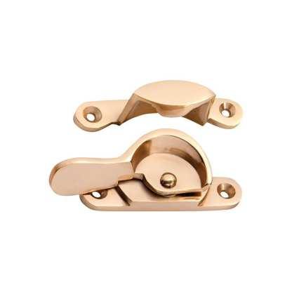 1614 Narrow Fitch Fastener - Polished Brass 1