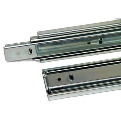 Full Extension Drawer Slide 250mm to 700mm. Side Mount Zinc. 45Kg load rated 4