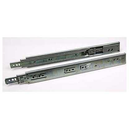 Drawer Slide Soft Close - Side Mount - Zinc - 300 to 700mm 1