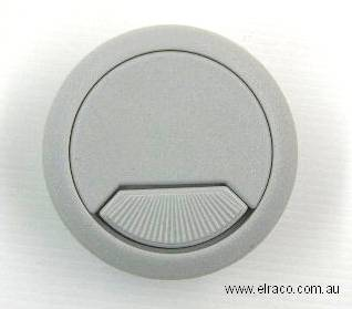 Cable Entry Cover. Plastic 60mm. Grey 1