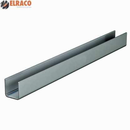 Industro Steel Guide Channel 5800mm Galvanised -Cowdroy OM57111