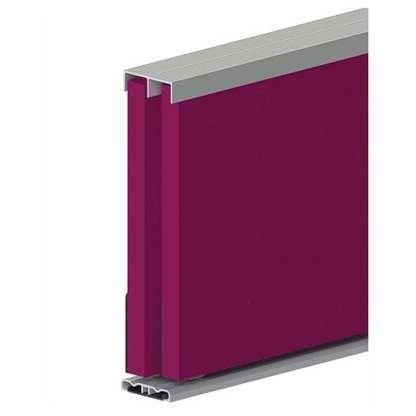 Kit for Three Sliding Doors 1800mm Long Gloss White -Cowdroy P18056 1