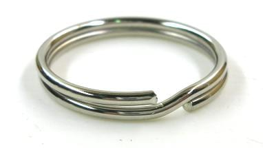 Key Ring 38mm - Nickel Plated - Price Per Box Of 100 Pieces 1