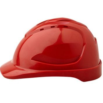 Safety Cap -  Red  - Vented - Pinlock Harness 1