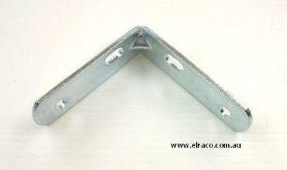 Angle Bracket -  65x65x16x2.1mm - Zinc Plated Steel 1