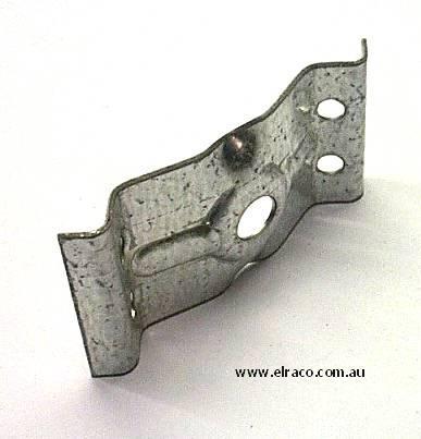 Corner Leg Bracket 80x37x1.2mm 1