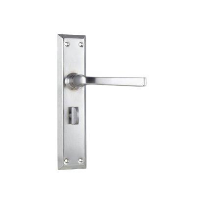Tradco 0687P - Menton Lever Privacy  - Satin Chrome - 225x50mm 1