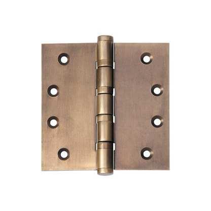 2364 Hinge - Ball Bearing Hinge - Antique Brass - 100x100x3mm 1