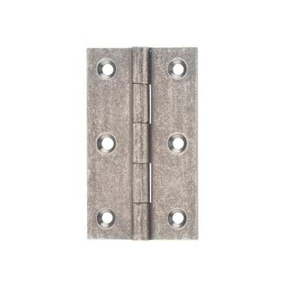 2520 Hinge - Butt Hinge - Fixed Pin - Rubbed Nickel- 89x50x2.5mm 1
