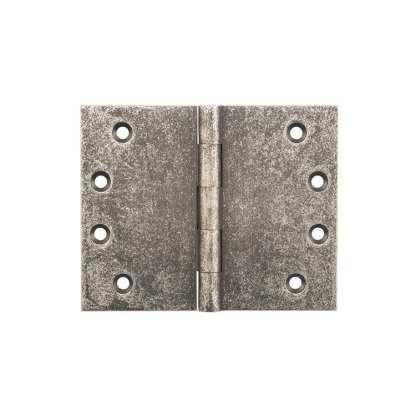 2540 Hinge - Broad Butt Hinge - Rubbed Nickel- 100x125x4mm 1