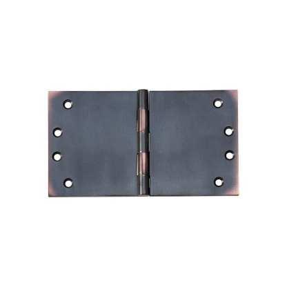 2592 Hinge - Broad Butt Hinge - Antique Copper - 100x175x4mm 1
