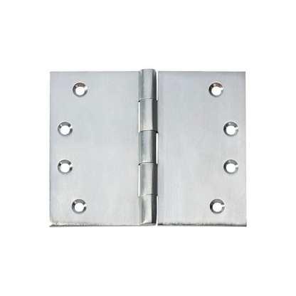2790 Hinge - Broad Butt Hinge - Satin Chrome - 100x125x4mm 1