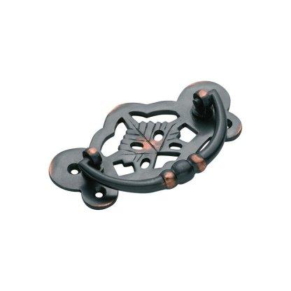 3425 Cabinet Handle - 88x45mm - Antique Copper 1