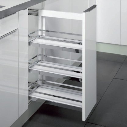Roll-Out Storage - Comfort Arena Style - 230mm Module - Left Hand Mounting - Two Trays 2