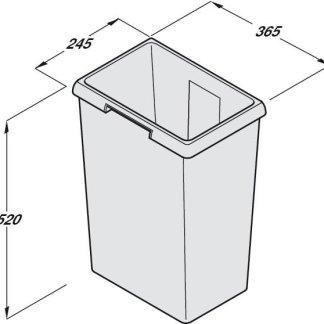 Hailo Waste bin