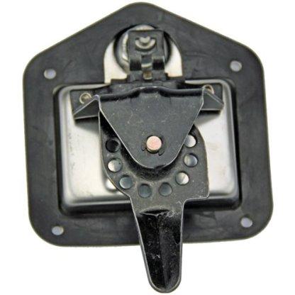 Folding T Lock. Polished Stainless Steel. Keyed Alike. Straight Cam 3