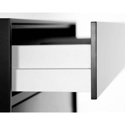 Nova Pro Scala Drawer Kit 600mm X 90mm(H) - Ice - 40kg Rated 3