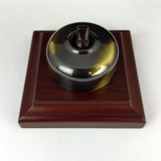 Heritage Switches, Dimmers and Data - Antique Brass - Classic Electric