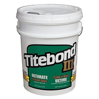 Titebond 3 Ultimate 19lt - Waterproof Cross-linking PVA - Light tan colour