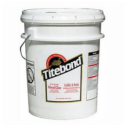 Titebond EXTEND 19lt - Aliphatic PVA Wood Glue - Cream colour - Dries clear