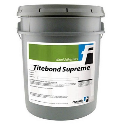 TITEBOND Supreme - 19lt - Aliphatic PVA - Cream colour - Dries clear