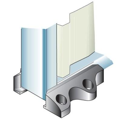 Nylon Floor Guide Pad Eltrak ECFGP 2