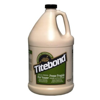 Titebond Cold Press for Veneer 3.785lt - Tan colour