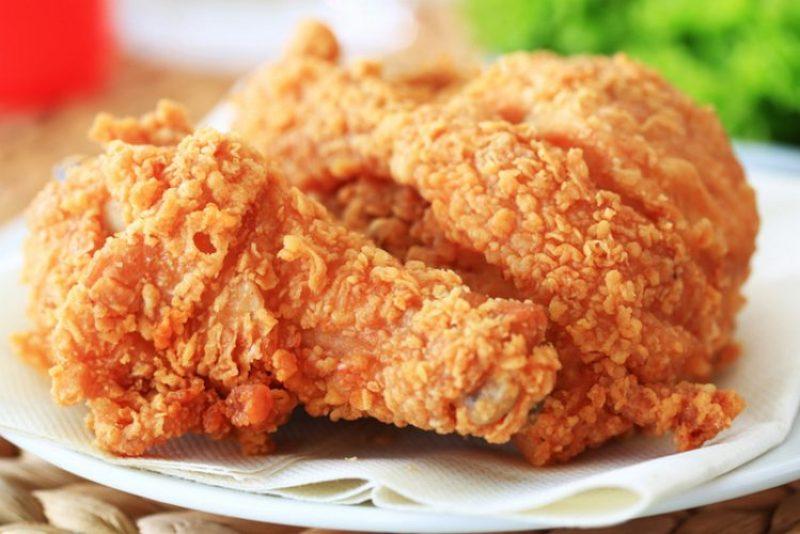 makanan khas amerika ayam goreng