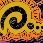 spiral sketch aka snakey