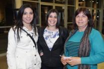 Cristina Elmes, Elizabeth Cueller y Nancy Barrera.